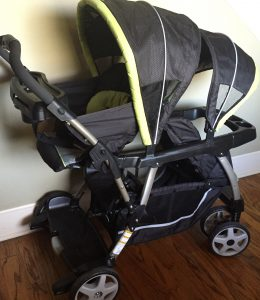 Ready2Grow Double Stroller. Only Used Once!