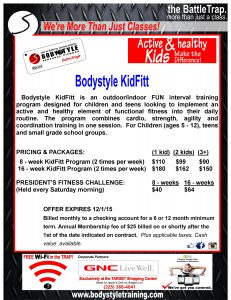 Kid Fit! by Bodystyle Personal Fitness