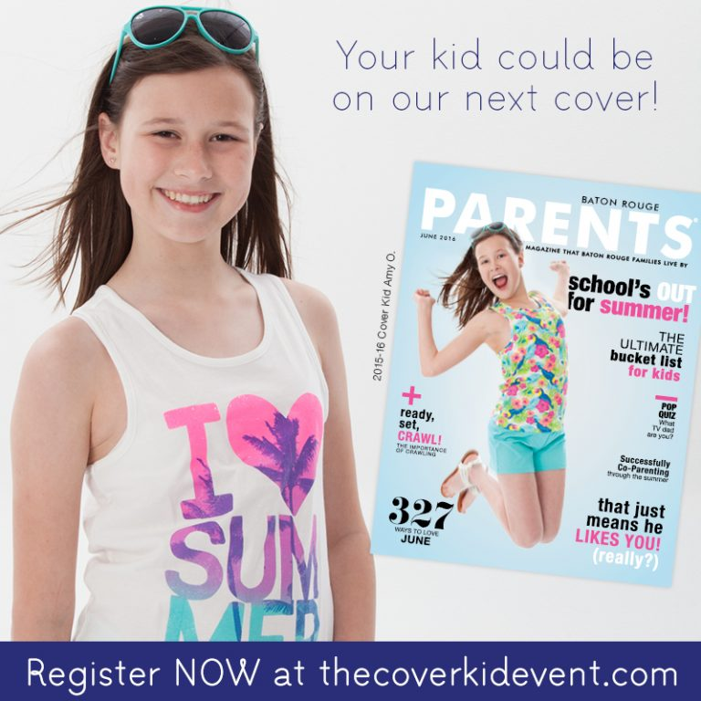 In The Spotlight Becoming A Cover Kid Baton Rouge Parents Magazine