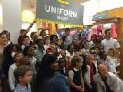 Parents Magazine Cover Kids are invited to participate in GAP's Rock Your Uniform Fashion