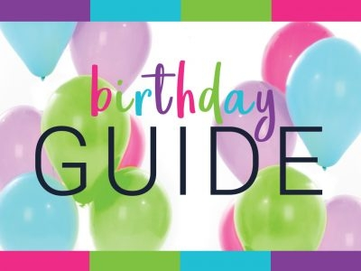 2017 Birthday Guide: Four Birthdays, Four Budgets