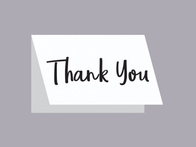 Remembering the Thank You Notes