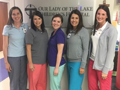 Our Lady of the Lake Children's Hospital Child Life Specialists