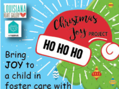 Christmas Joy Project: Bring Joy to a Child in Foster Care This Christmas!
