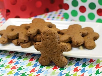 Chocolate Sweet Potato Gingerbread Cookies