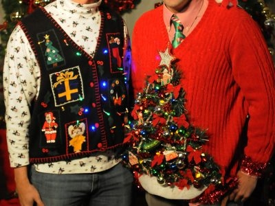 Ugly Christmas Sweater Murder Mystery Dinner Theatre