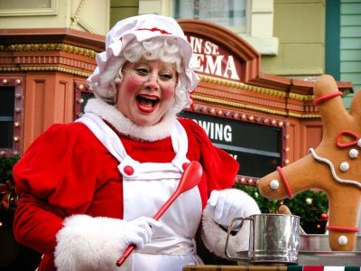 Fun with Mrs. Claus