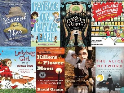 April 2018 Books