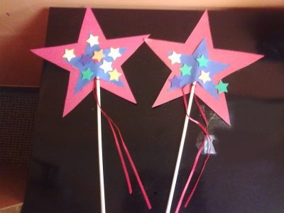Memorial Day Star Wand Story/Craft