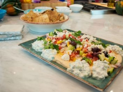 Greek Salad Hummus