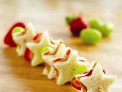 PB&J Fruit Kabobs