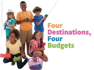 Four Destinations, Four Budgets
