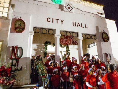 Lighting of Old City Hall