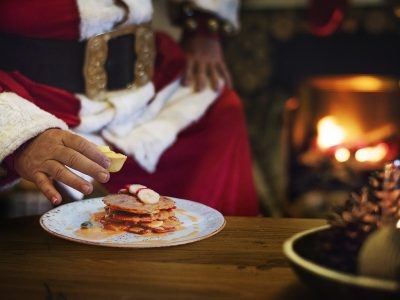 Breakfast and Lunch with Santa