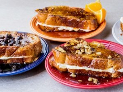 Creamy Stuffed French Toast