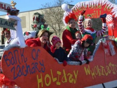 ZACHARY CHAMBER OF COMMERCE CHRISTMAS PARADE