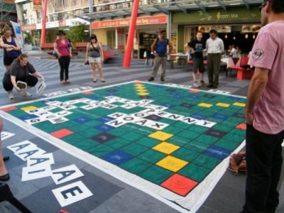 LIFE-SIZED BOARD GAMES