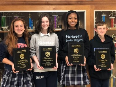 Parkview's Junior Beta Club Wins at Convention