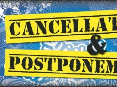 Coronavirus Cancellations & Postponements