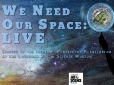 WE NEED OUR SPACE: LIVE
