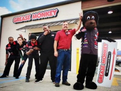 Coupons & Congratulations from Grease Monkey
