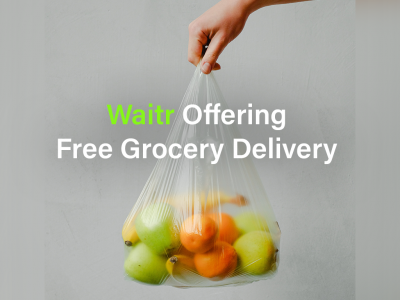 Waitr Offering Free Grocery Delivery in Baton Rouge in Preparation for Tropical Storm Sally