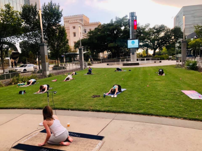 JOLIE YOGA CLUB ON THE LAWN