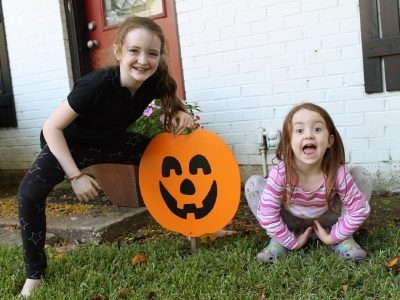 Halloween 2020: No Tricks Just Treats for This Family