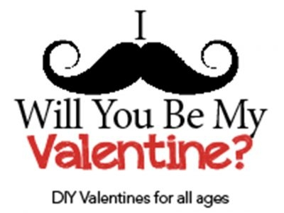 I Mustache, Will You Be My Valentine?