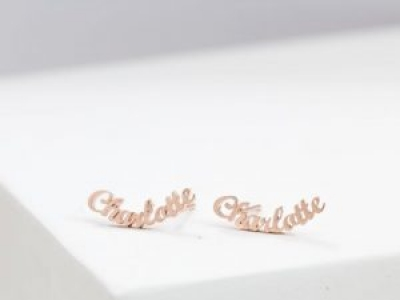 Minimalist Custom Earrings