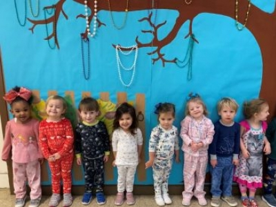 Broadmoor Presbyterian Early Childhood Center Hosts PJ Day