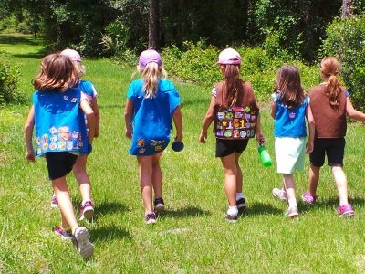 GIRL SCOUTS LOUISIANA EAST: OUTDOOR ART PARTY