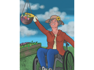 Gardening from a Wheelchair: 5 Easy Steps to Get Growing