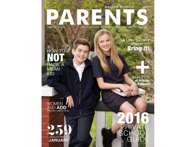 January 2016 - Baton Rouge Parents Magazine
