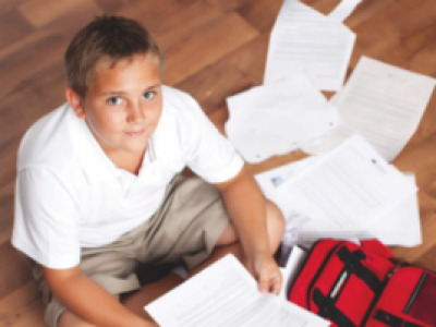 7 Ways To Organize Your Child's Paper Load