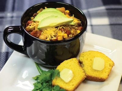 Weeknight Chicken Chili